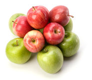 Apples isolated on white background Stock Photos