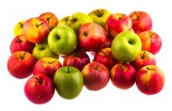 Apples isolated on white background. Fruit. Stock Photos