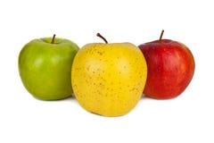 Apples isolated on white background Stock Image