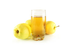 Apples and juice Royalty Free Stock Image