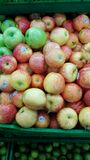 A lot apples and colors Royalty Free Stock Photos