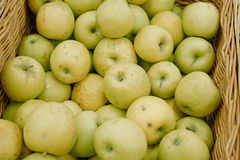 Apples in Mall Basket. Green Apples in Mall Basket Stock Photography