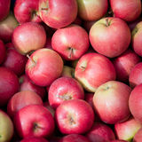 Apples at a market Stock Photo