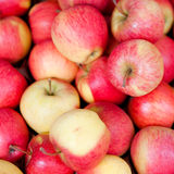 Apples at a market Royalty Free Stock Image