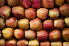Apples. At the market of Athens Royalty Free Stock Photo