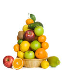 Apples and oranges Royalty Free Stock Photos