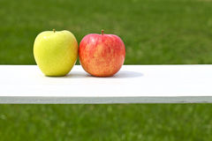 Apples, pairs, Stock Photos