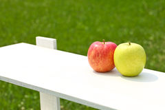Apples, pairs, Royalty Free Stock Images