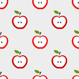 Apples pattern Royalty Free Stock Photography