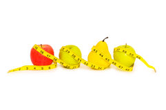 Apples and pear Royalty Free Stock Image