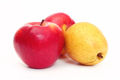 Apples and pear Royalty Free Stock Photography
