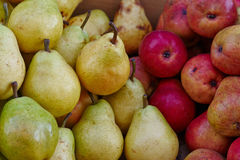 Apples, pears Royalty Free Stock Photography