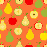 Apples and pears Royalty Free Stock Image