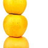Apples Pile closeup Stock Image