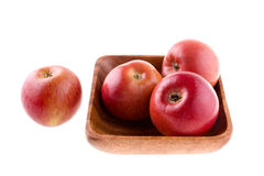 Apples in a plate Royalty Free Stock Image