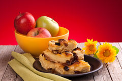 Apples And Pudding Royalty Free Stock Images
