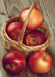 Apples Red Delicious Stock Photo