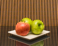 Apples red and green. Stock Photography
