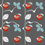 Apples seamless pattern. Seamless pattern can be used for wallpaper, pattern fills, web page background,surface textures Stock Photo