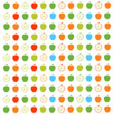 Apples seamless pattern Royalty Free Stock Photography
