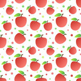 Apples seamless pattern Royalty Free Stock Photos