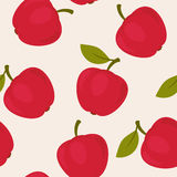 Apples seamless pattern Royalty Free Stock Image