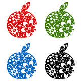 Apples set Stock Images