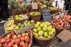 Apples sold at Borough Market in London, UK Stock Images