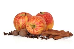 Apples and Spices Royalty Free Stock Image