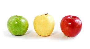 apples three Στοκ Εικόνες