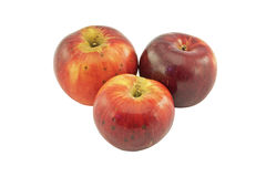 Apples threesome Royalty Free Stock Photo