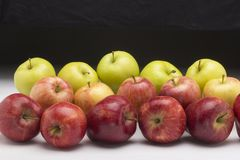 Apples to help preventing diseases Royalty Free Stock Images