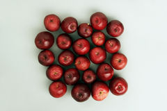 Apples - top view Stock Photo