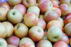 Apples at traditional market royalty free stock photography