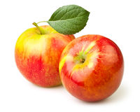 Apples two Royalty Free Stock Photography