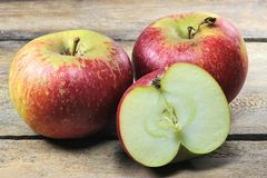 Apples variety Ingrid Marie Royalty Free Stock Photo