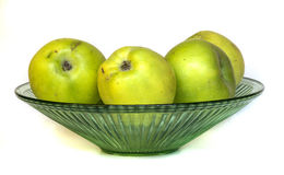 Apples in a vase Stock Photography