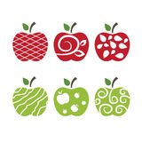 Apples .Vector art Stock Photography