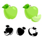 Apples. Vector Stock Image
