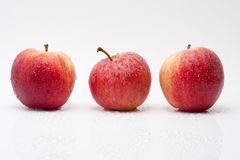 Apples with waterdrops Stock Image