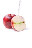 Apples wet Royalty Free Stock Photo