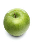 Apples on whit ebackground - close-up Royalty Free Stock Photos