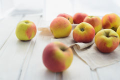 Apples on a white Royalty Free Stock Images