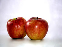 Apples. Yummy two apples are on the table Stock Photography