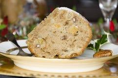 Applesauce κέικ σταφίδων rhume Στοκ Εικόνες