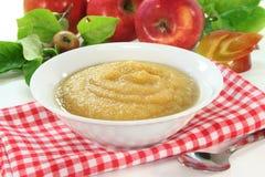 Applesauce Stock Image