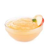 Applesauce stock photography