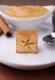 Applesauce and cinnamon Stock Photography