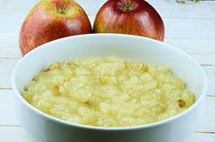 Applesauce Stock Photo