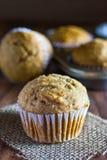 Applesauce Muffins καρότων Στοκ Φωτογραφίες